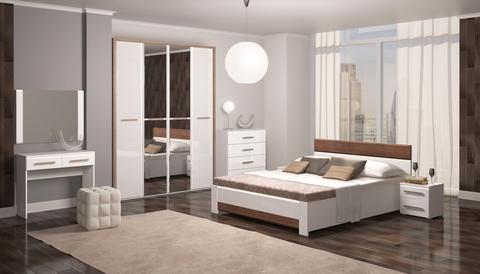 Спальня Яна-02 белый глянец, невис