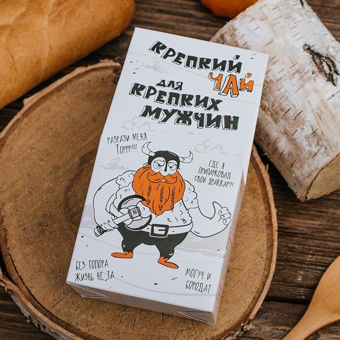 Купить в Перми чай в подарочной упаковке ДЛЯ КРЕПКИХ МУЖЧИН