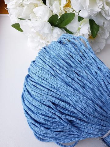 Голубой Хлопковый шнур