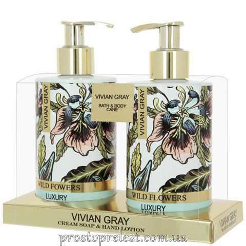 Vivian Gray Wild Flowers Hand Set – Набір для рук (крем-мило, лосьйон для рук)