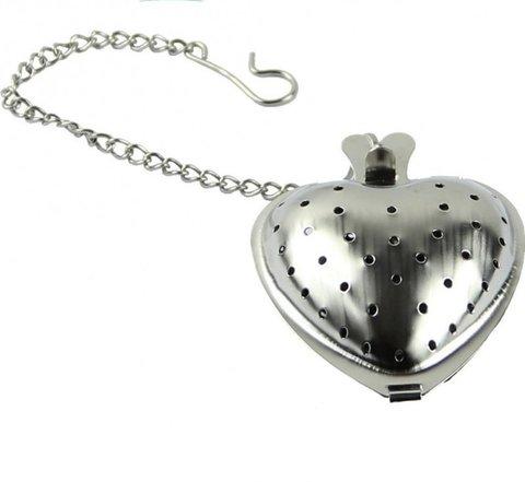 Сердечко на цепочке для заваривания чая