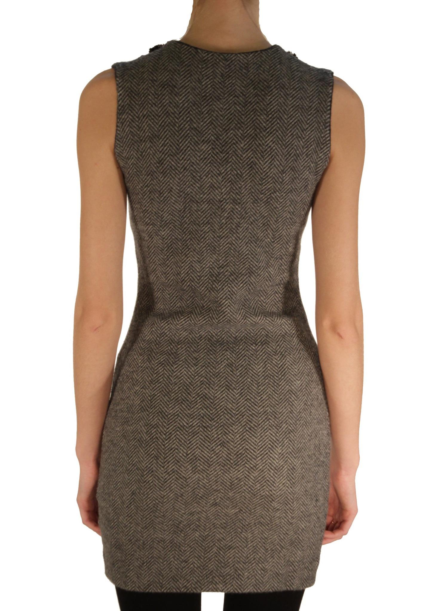 Платье из шерсти DSQUARED2