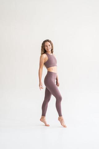 Легинсы жен Luna Pudra/Brown Purple Laloka