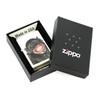 Зажигалка Zippo Monkey, латунь с покрытием White Matt, белая, матовая, 36х12x56 мм