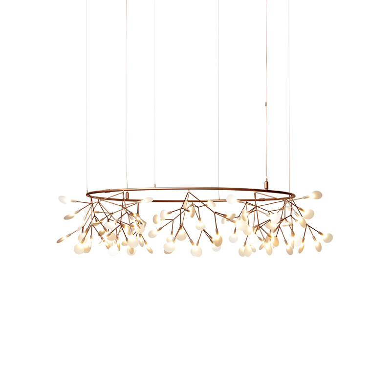 Подвесной светильник копия Heracleum  Big O by Moooi (медный, D160)
