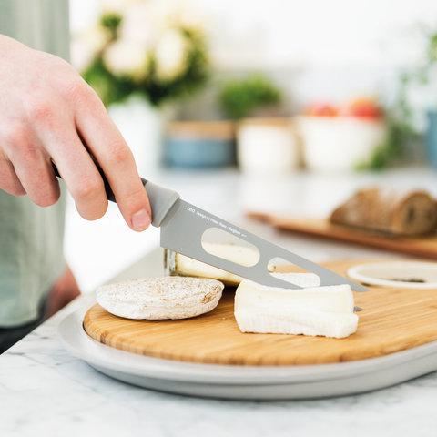 Нож для сыра 13см Leo (серый)