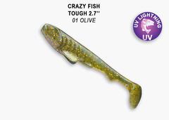 Силикон CRAZY FISH TOUGH 2,8