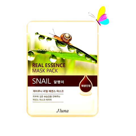 JLuna Real Essence Mask Pack SNAIL