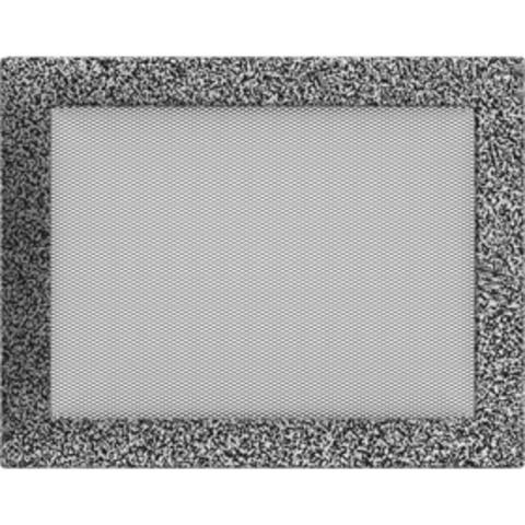 Вентиляционная решетка Черная/Серебро (22*30) 22/30CS