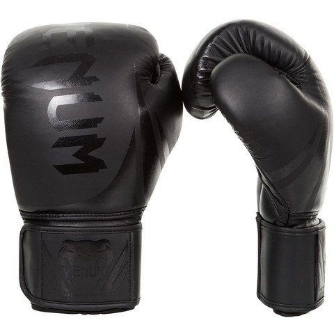 Перчатки для бокса Venum Challenger 2.0 Boxing Gloves Black/Black
