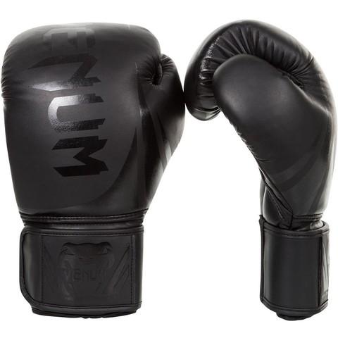 Перчатки для бокса Venum Challenger 2.0 Boxing Gloves Black/Black
