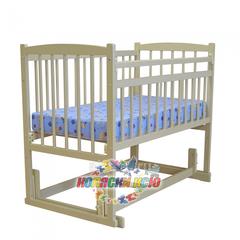 Кровать детская Беби 4 (попереч. маятник) РАЗБОРНАЯ