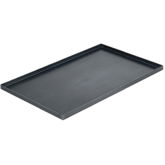 Противень из черного металла 600х400 мм (Высота: 30 мм, 0,8мм)