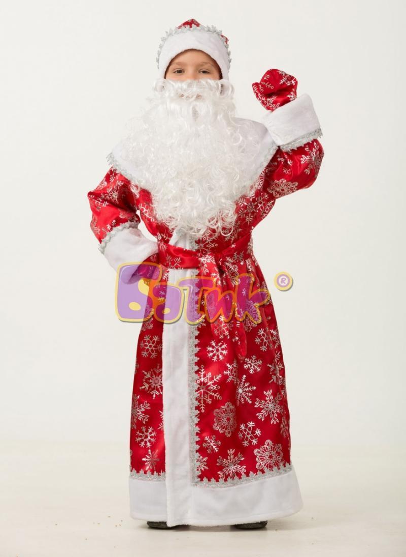 1206  Дед Мороз сатин детский