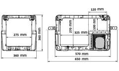 Купить Компрессорный автохолодильник Alpicool ABS-30 от производителя недорого.