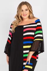 Платье с открытыми плечами PP00507STR01