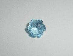 Топаз небесно-голубой 9.7 x 9.0 мм фантазийная огранка