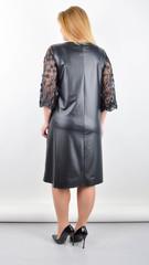 Леді. Елегантна сукня великих розмірів. Чорний.
