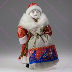 Интерьерная кукла Дед Мороз с мешком