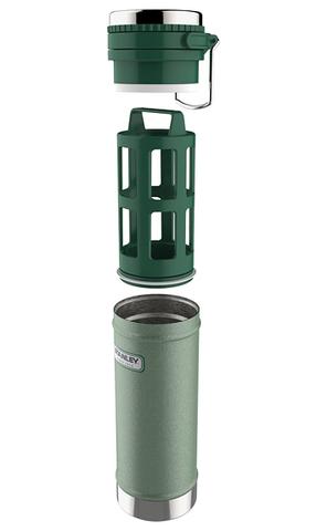 Термос Stanley Classic (0,47 литра), зеленый