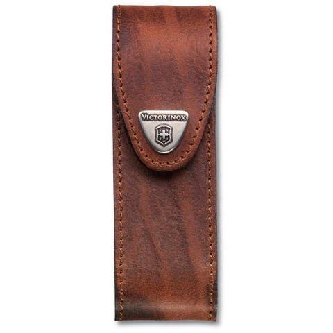 Чехол Victorinox (4.0548) для 111мм толщина 4-6 ур кожа коричневый