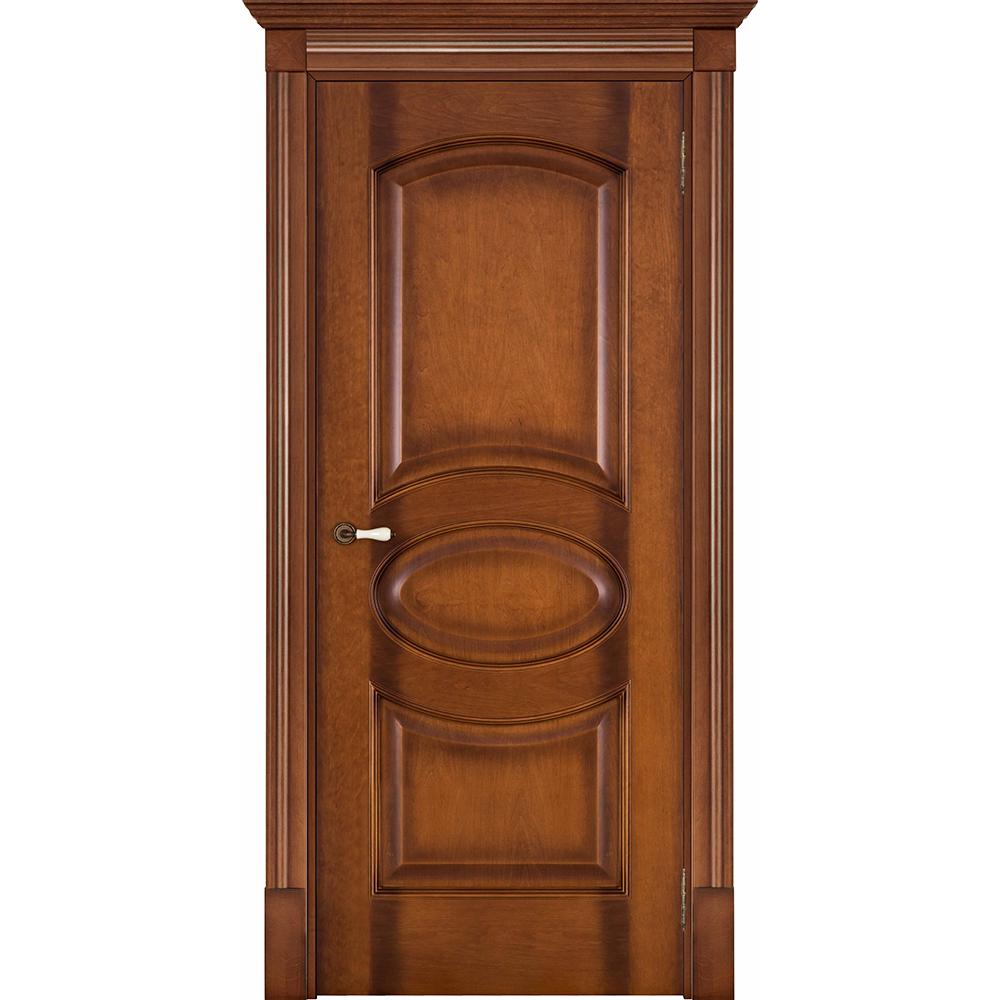 Элитные межкомнатные двери Флоренция Соло светлый мёд без стекла solo-ton-5-med-dg-dvertsov.jpg