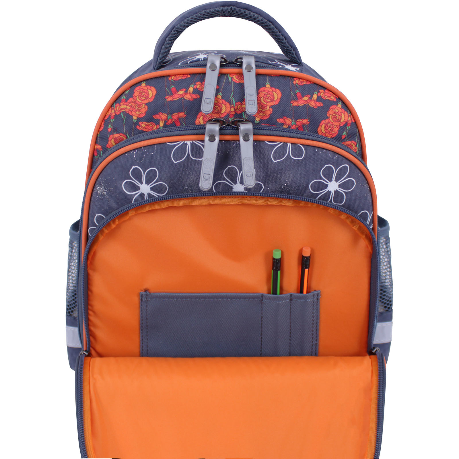 Рюкзак школьный Bagland Mouse 321 серый 499 (0051370) фото 6