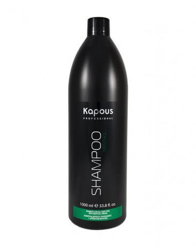 Шампунь для всех типов волос с ароматом ментола, 1000 мл