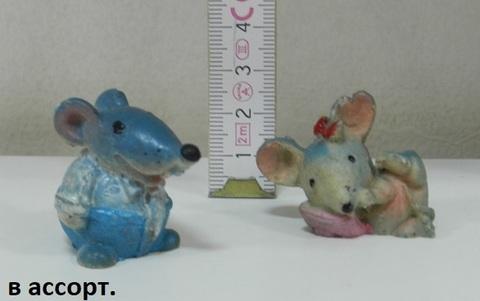 Фигурка Мышь-синяя (Д)