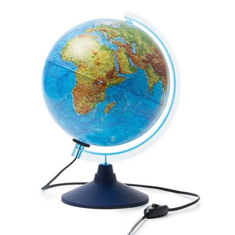 Глобус физико-политический с подсветкой d=250 мм