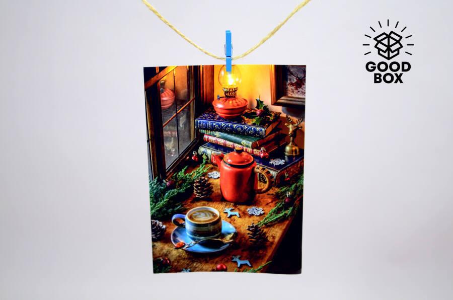 Наклейка Рождественская купить в Алматы
