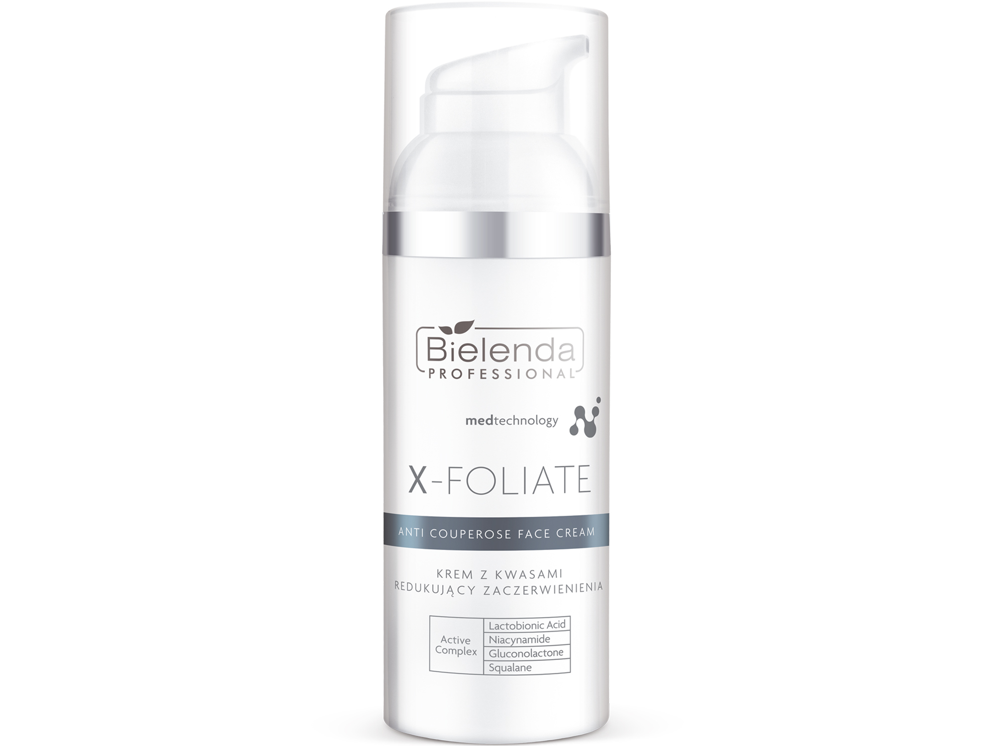 X-FOLIATE Anti Couperose Крем для лица  с кислотами склонной к куперозу, 50 мл.