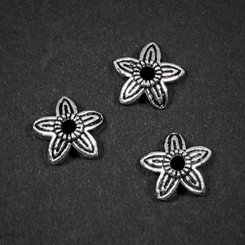 Шапочка Лия 6,8 мм серебро 925 1 шт