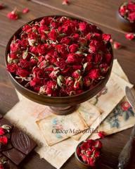 Роза Красная чайная сушеная (ароматная) - бутоны
