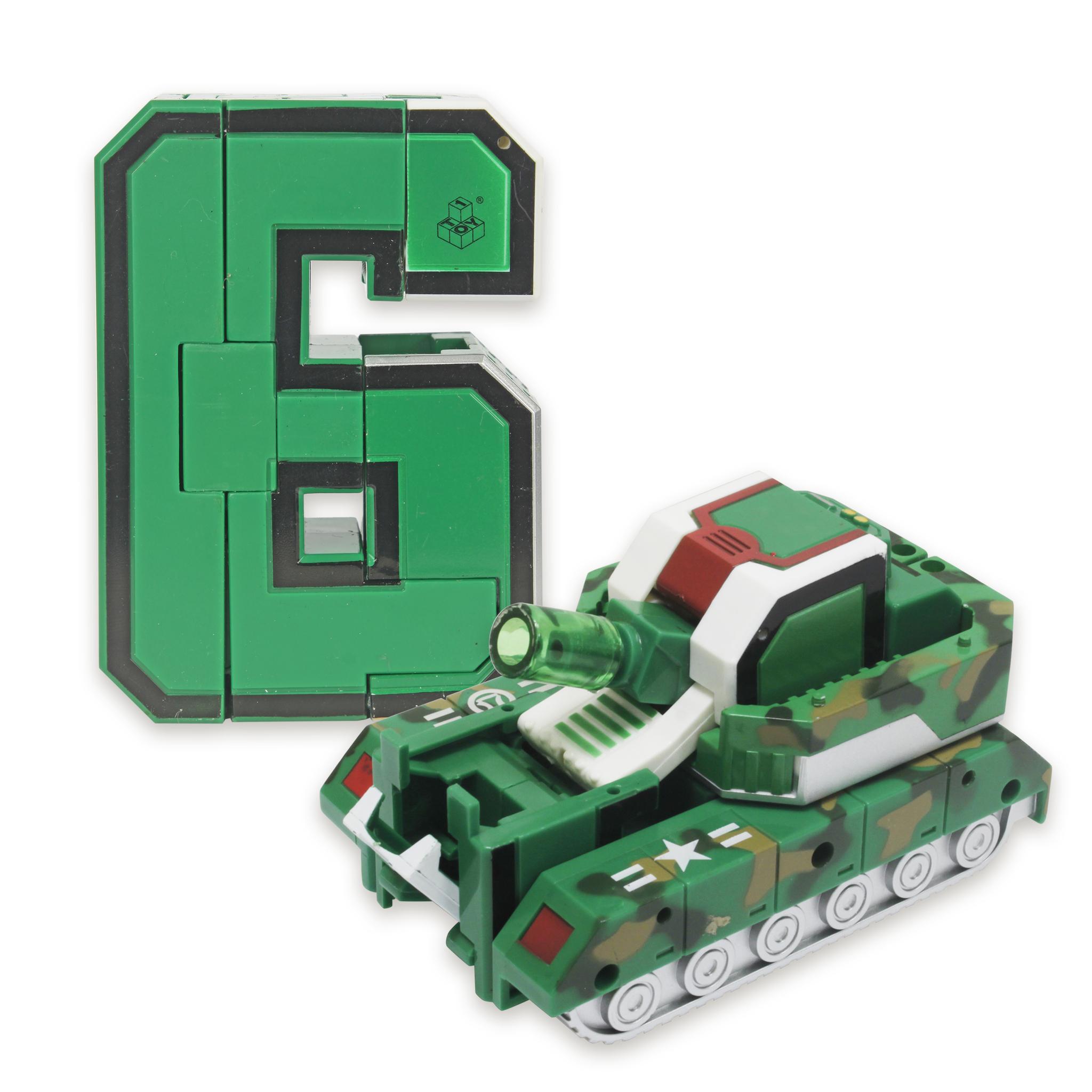 6 Трансбот XL Громобот (цифра шесть)