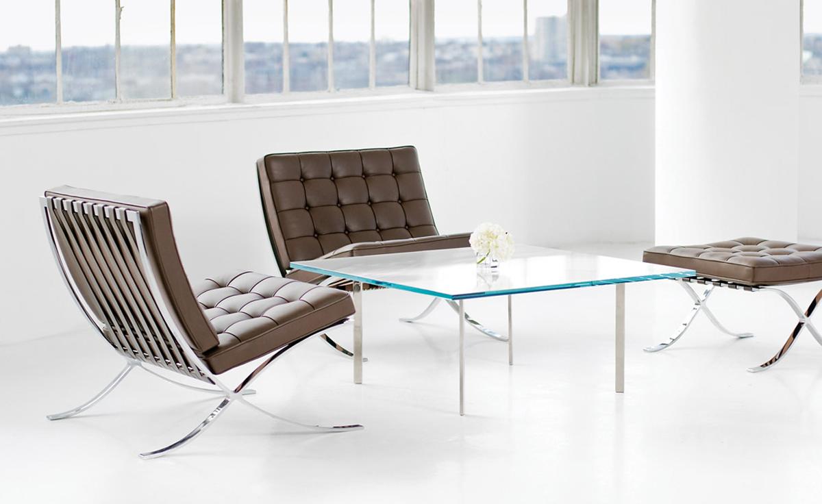 Стол журнальный Barcelona Style Coffee Table - вид 4