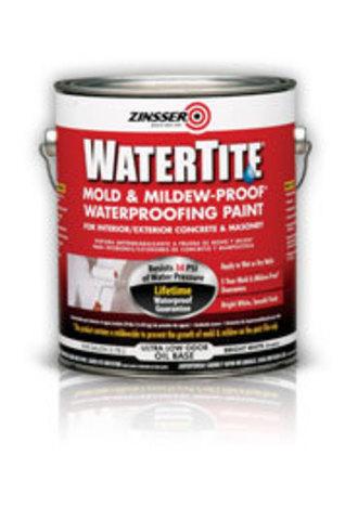 ZINSSER Watertite Waterproofing Paint краска водостойкая противогрибковая