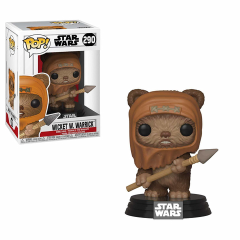 Funko POP! Bobble: Star Wars: Wicket