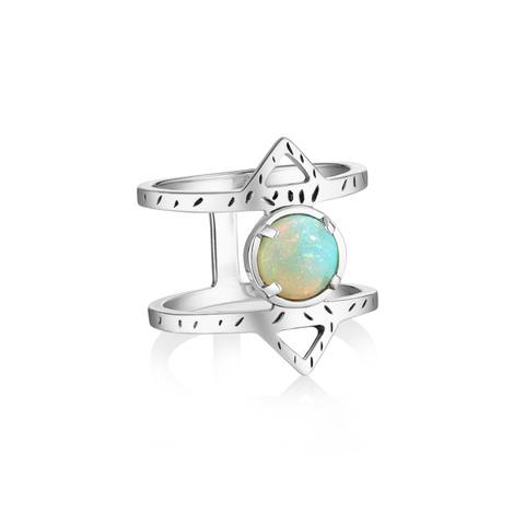 Кольцо ATHENA - Опал