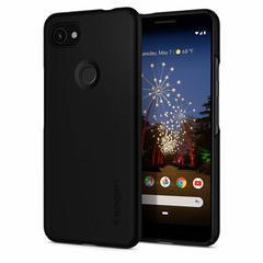 Чехол Spigen Thin Fit для Google Pixel 3a Case (2019) - Black