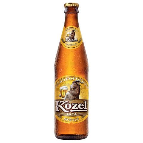 Пиво светлое Велкопоповецкий Козел 4.6* Алкомаркет 0,5л