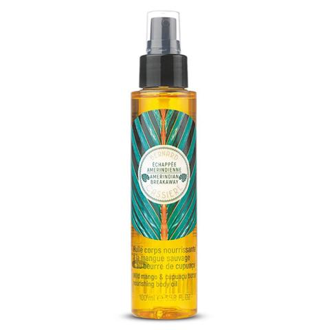 BERNARD CASSIERE Линия Сила джунглей: Питательное масло для тела дикое манго и масло купуасу (Nourishing Bodу Oil), 100мл