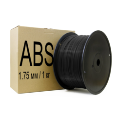 Фотография — ABS пластик диаметр 1,75 мм, вес 1 кг.