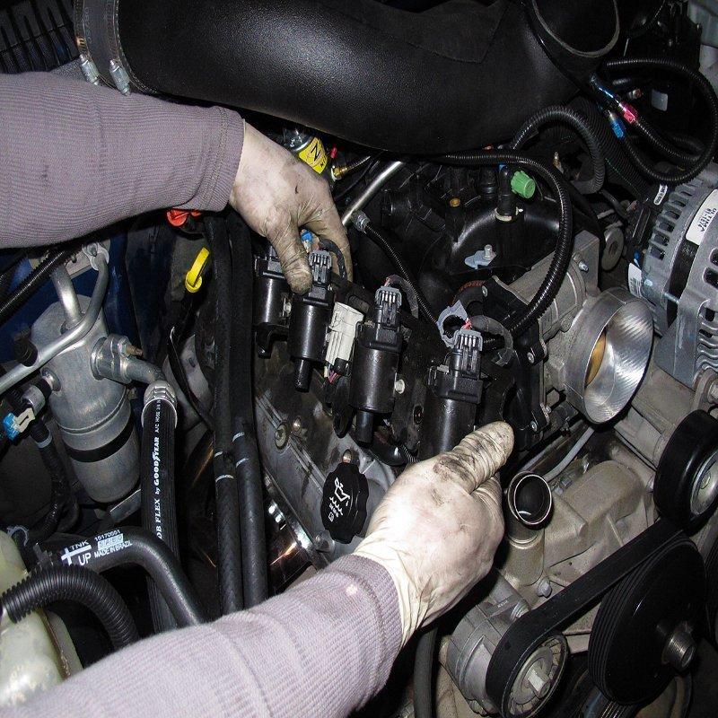 Замена катушки зажигания УАЗ Патриот