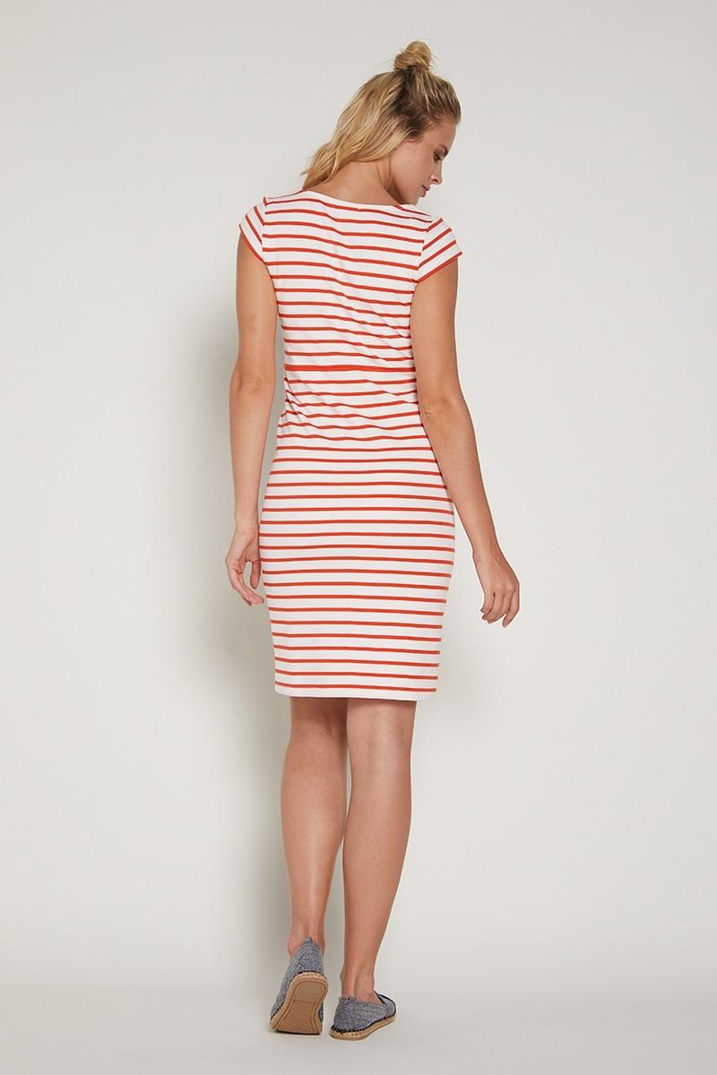 Фото платье для беременных GEBE от магазина СкороМама, оранжевый, размеры.
