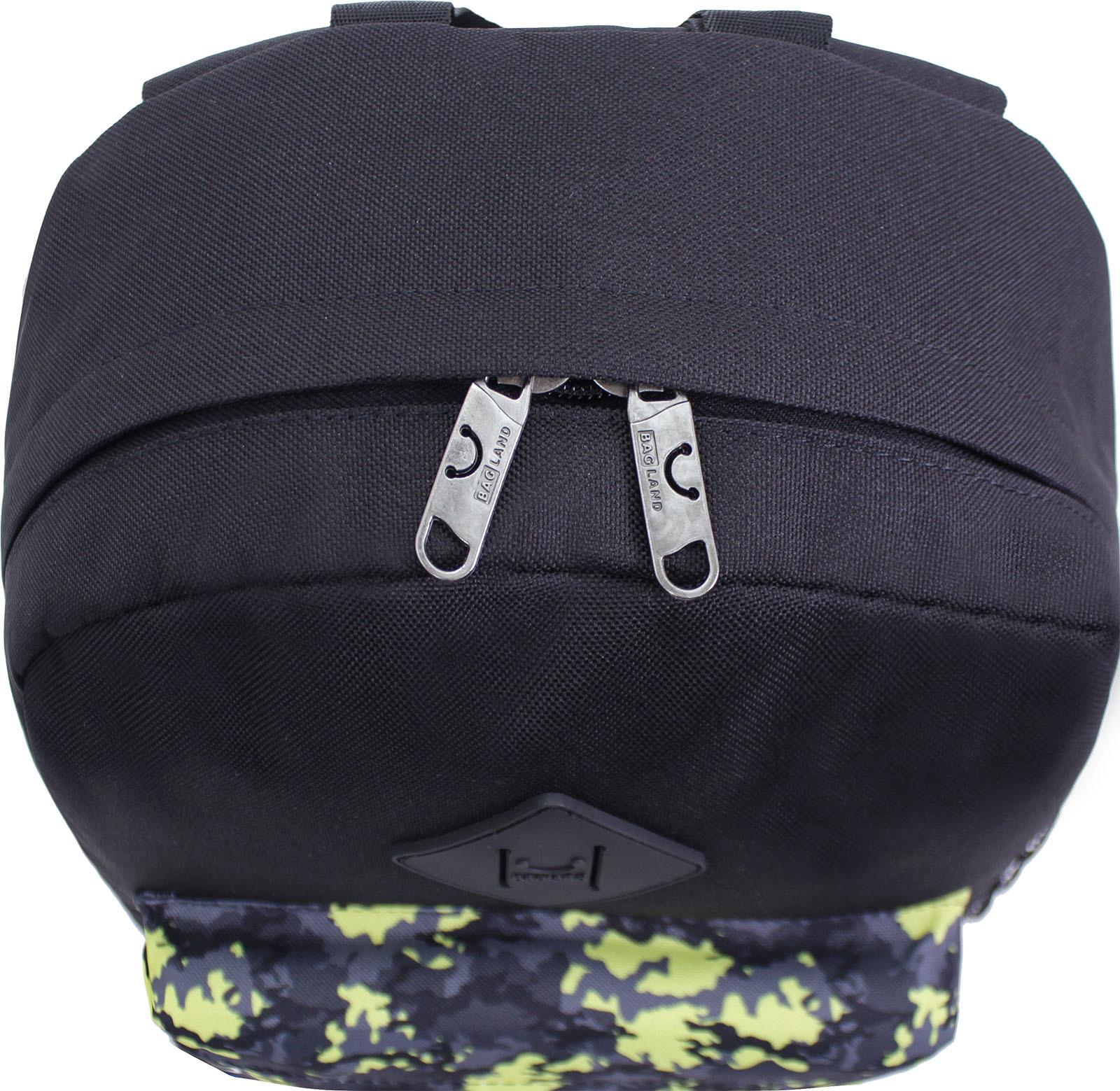 Рюкзак Bagland Молодежный W/R 17 л. черный 454 (00533662) фото 4
