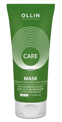 OLLIN care интенсивная маска для восстановления структуры волос 200мл/ restore intensive mask