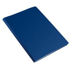 Папка с зажимом Attache Label А4 0.35 мм синяя (до 150 листов)