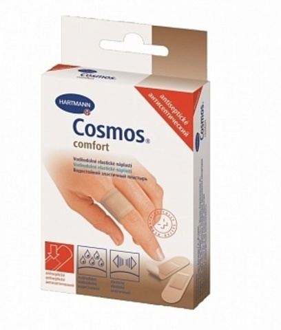 Пластырь антисептический Cosmos Comfort antiseptic