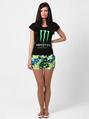 A07-5 шорты женские, зеленые